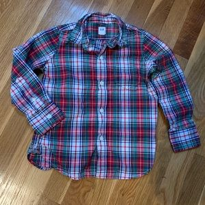 GAP plaid shirt